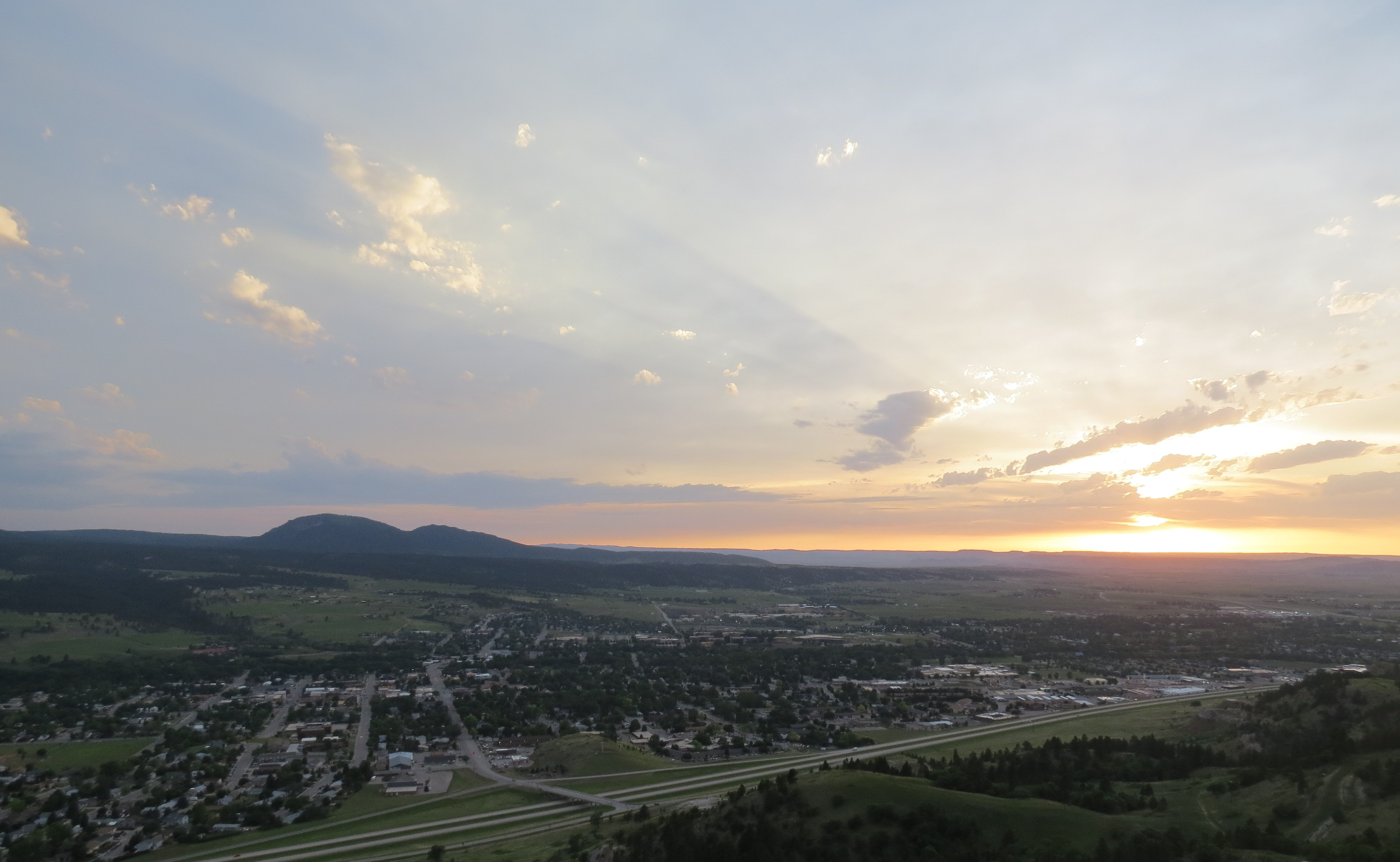 Lookout Mountain Spearfish, SD NW view